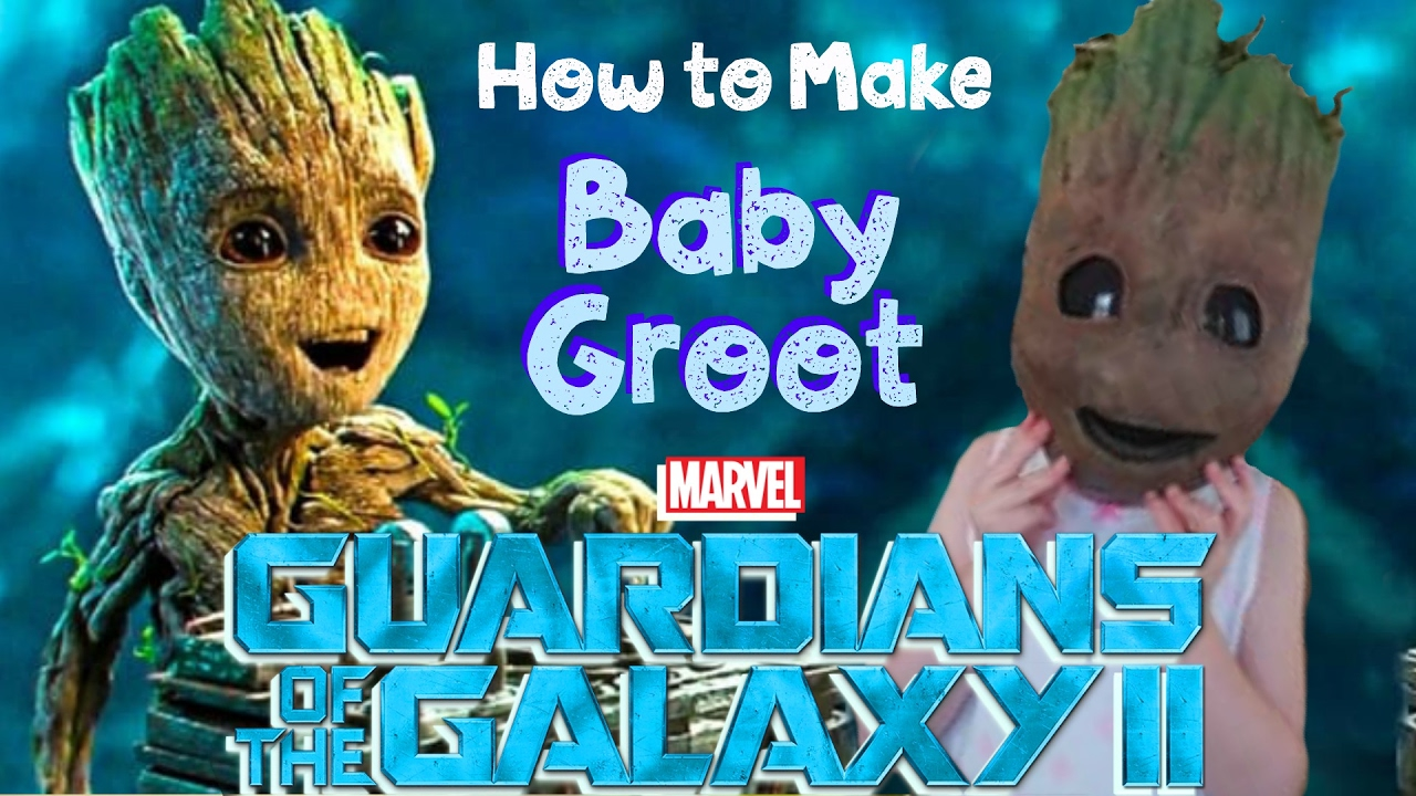 Making a baby groot mask youtube making a baby groot mask solutioingenieria Gallery