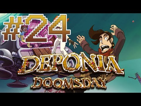 Deponia Doomsday [BLIND] - Part 24: Tight Squeeze