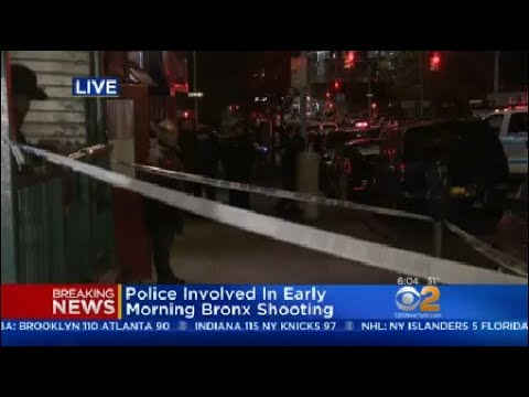 Police-Involved Shooting In The Bronx