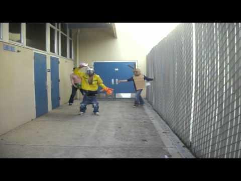 Leland High School Harlem Shake (flashmob fail)