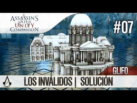 Assassin's Creed Unity Companion APP | Guía Localización Glifos | Los Inválidos | Solución