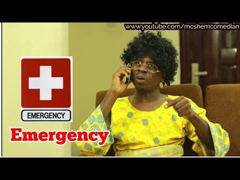 Download EMERGENCY In An African Home| MC SHEM COMEDIAN | African Comedy