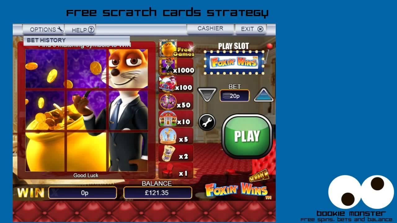 Scratch Cards No Deposit Strategy Youtube