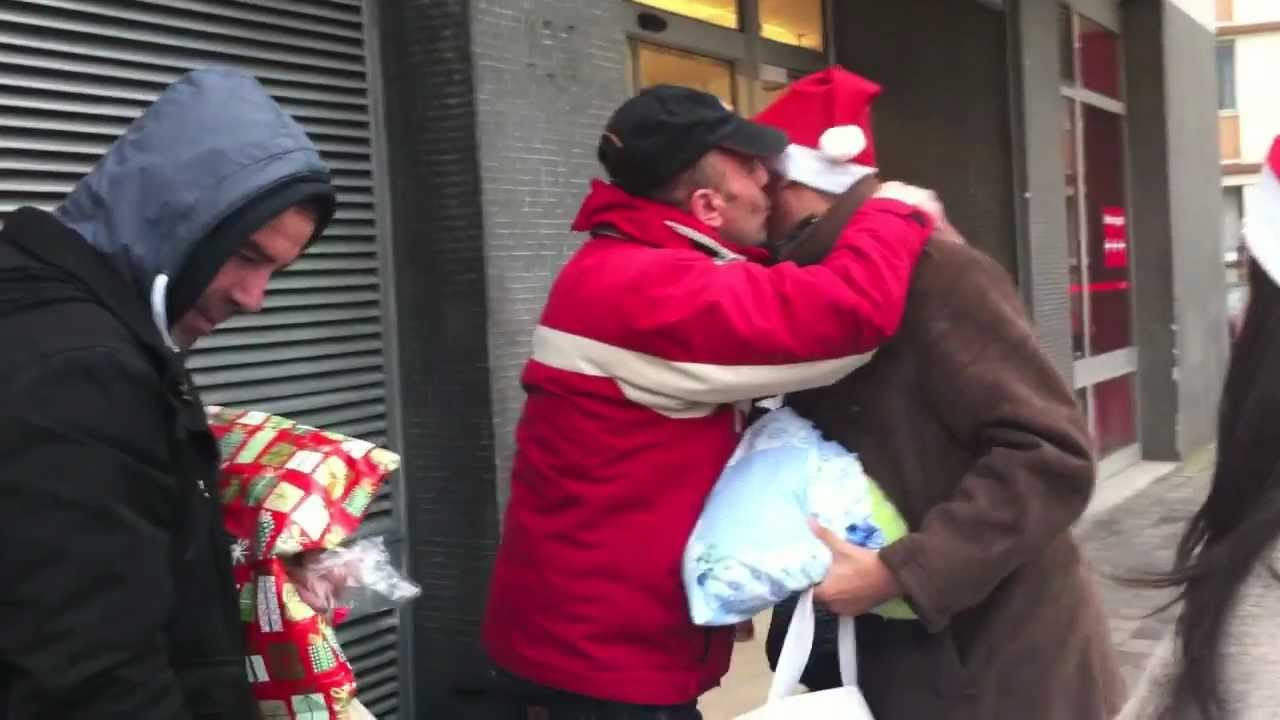 80 Gifts To 80 Homeless People In Paris -- We Are All