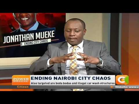 Power Breakfast: Ending Nairobi City Chaos