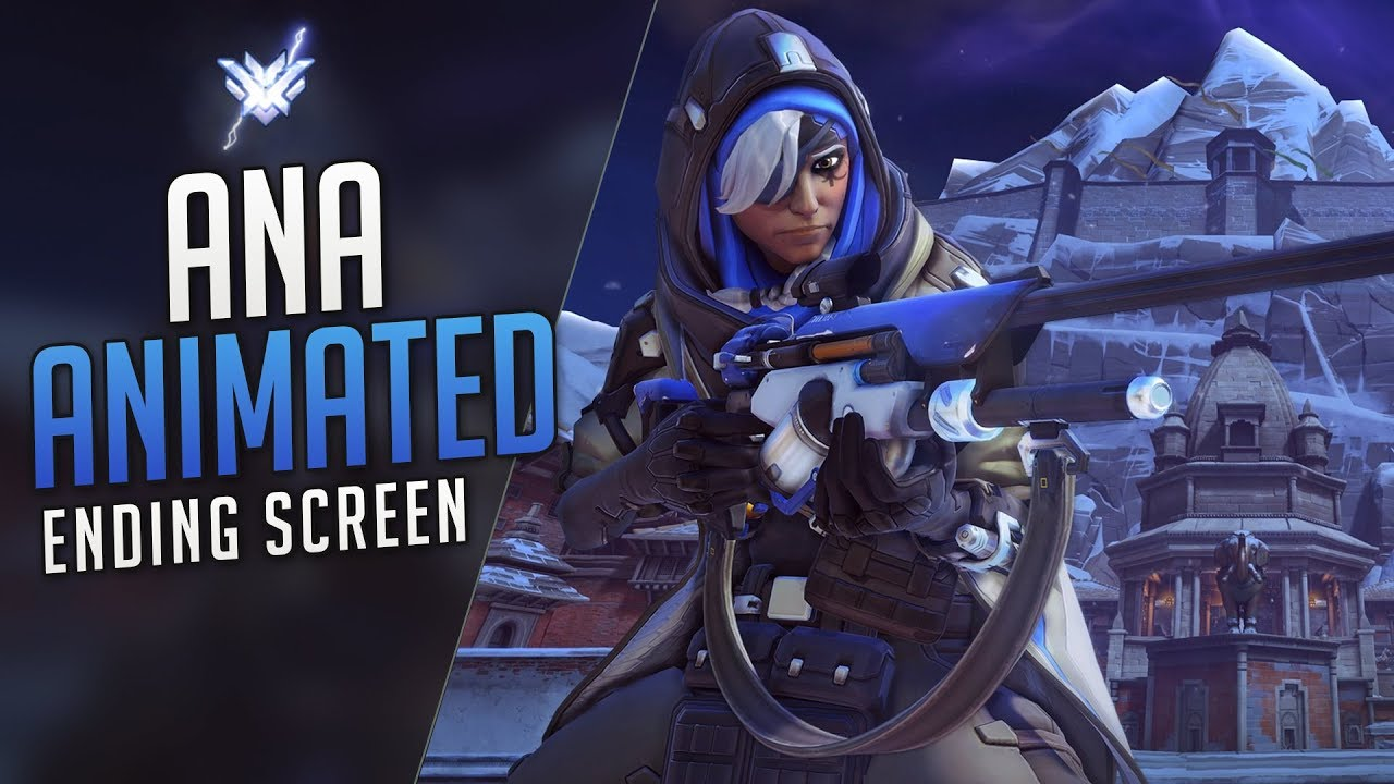 Overwatch Animated Screen - Ana for Gale Adelade