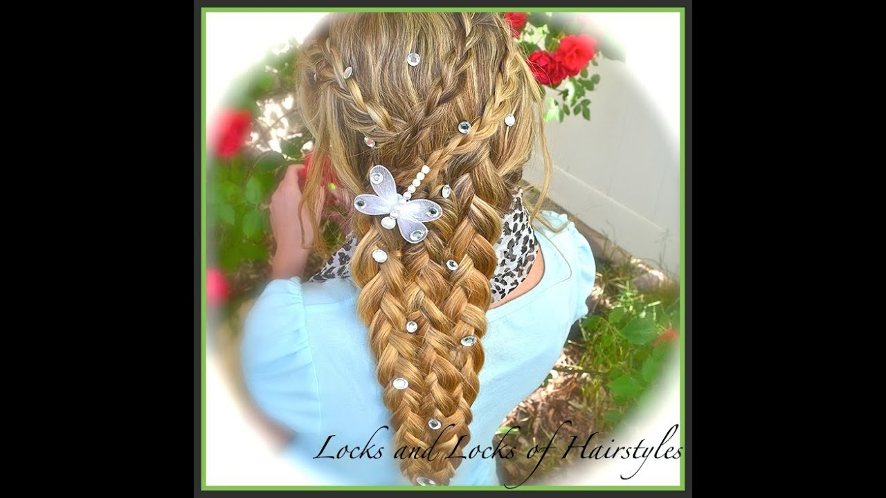 Rapunzel Braid From Tangled YouTube