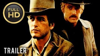 🎥 BUTCH CASSIDY AND THE SUNDANCE KID (1969) | Full Movie Trailer | Full HD | 1080p