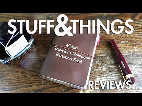 Review: Midori Traveler's Notebook (Passport Size)