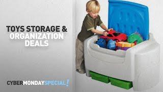 Walmart Top Cyber Monday Toys Storage & Organization Deals: Little Tikes Sort 'N Store Toy Chest,