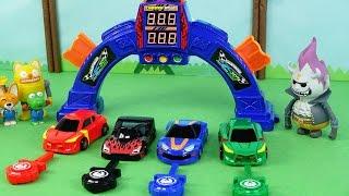 터닝메카드w 타나토스 피닉스 에반 테로 슈팅카 장난감놀이 toy shooting car transformers robot with turning mecardw
