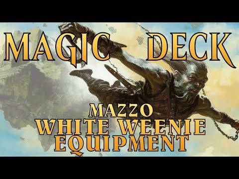 MtG ► MAGIC DECK - Mazzo White Weenie Equipment [Oct 2017]