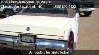 1975 Chrysler Imperial  for sale in , NC 27603 at Classicaut #VNclassics