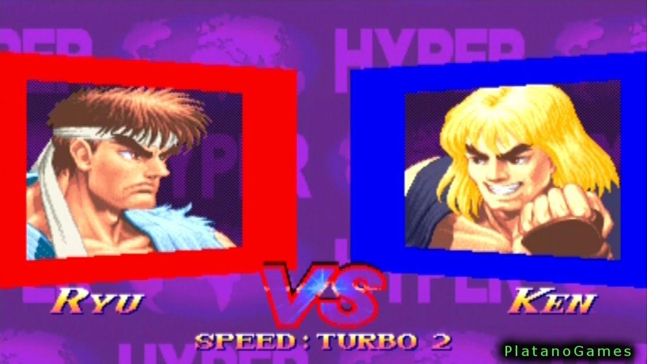 Hyper Street Fighter Ii The Anniversary Edition Ryu Vs Ken