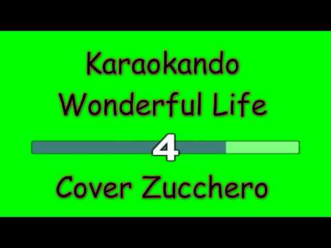 Karaoke Internazionale - Wonderful Life - Cover Zucchero Fornaciari - Black ( Lyrics )