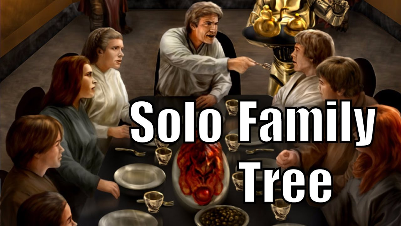 Solo Family Tree - Star Wars History - YouTube