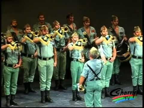 La Legión - Desfile y Concierto de Bandas Militares en Ronda