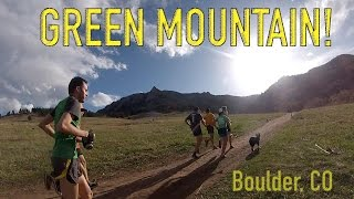 Green Mountain Summit: Gregory Canyon route up, Saddle Rock down | Boulder, CO trail running