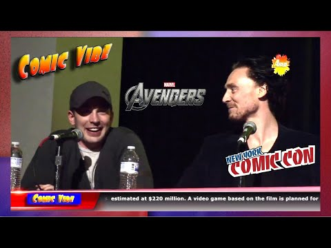 The Avengers Movie Panel (Official) - New York Comic Con 2011 -