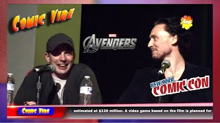 The Avengers Movie Panel (Full) | New York Comic Con