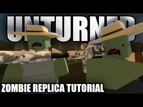 Unturned: HOW TO BECOME A ZOMBIE (Farmer, Chef, Military, Firefighter, Police, RCMP, Prison Zombie)