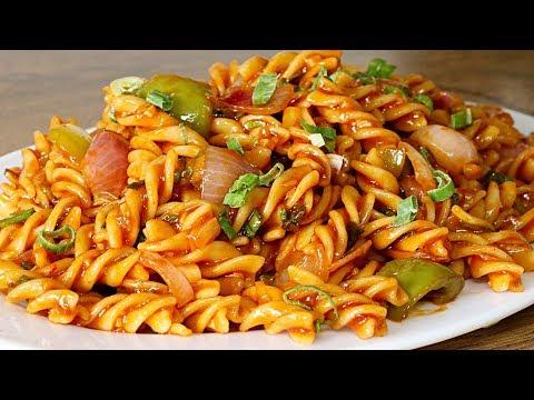 Chinese Sauce Pasta | Indo Chinese Pasta Recipe | Kanak's Kitchen