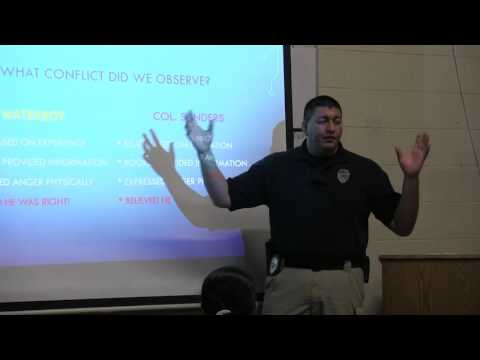 Soft Skills Training - Sergeant Caesar Sierra, Hopkinsville Police Department