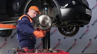 Cómo cambiar brazo inferior de la suspensión delantera en BMW X3 E83 [INSTRUCCIÓN]