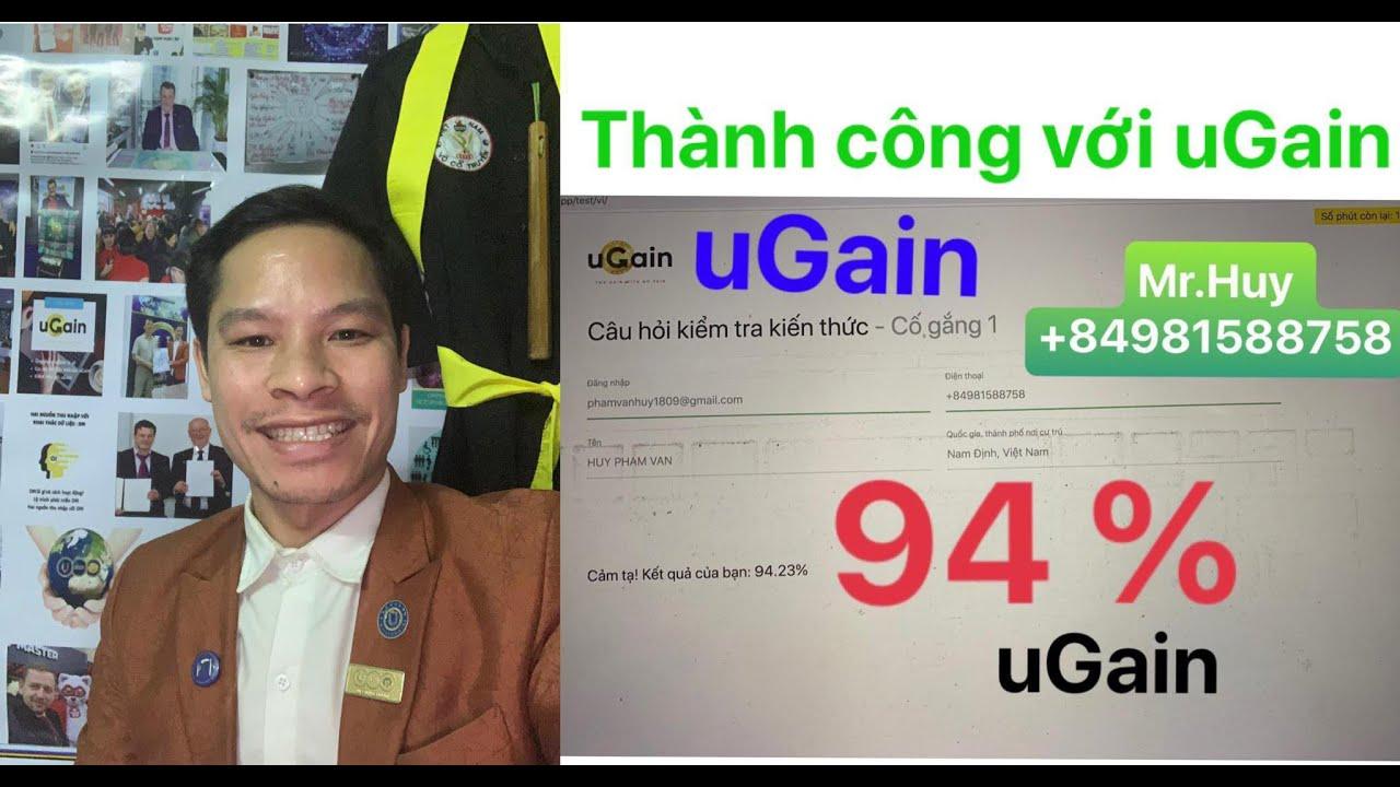 Hướng dẫn làm bài tập đạt trên 90%, tặng điểm giá trị 3000$ với #UGAIN , tập đoàn NEEW CRU hợp tác