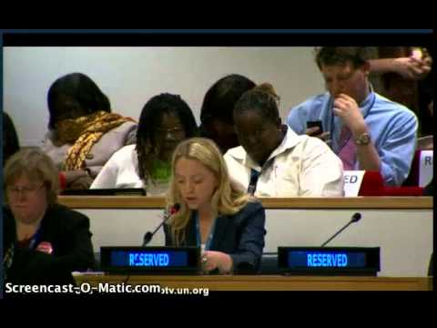 PEN International at the UN Commission on the Status of Women