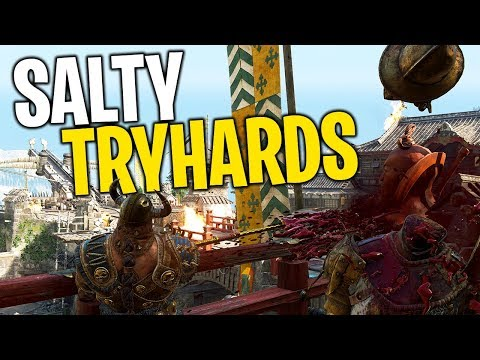 Making Tryhards Salty - For Honor Brawls