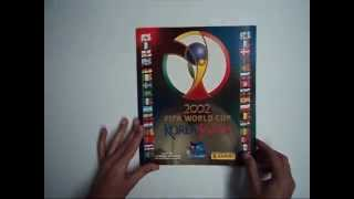 Panini 2002 Korea Japan FIFA World Cup Sticker Album Complete review