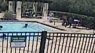 Watch How This Brave Teen and 9-Year-Old Save Toddler From Drowning In Pool