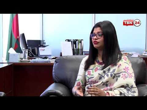 TBN24 Special Talk Show Sadia Faizunnesa with Nupur Chowdhury