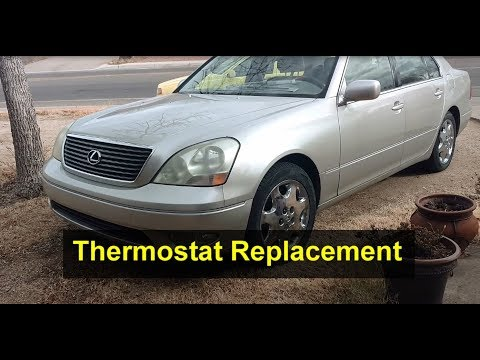 How to replace the thermostat in the Lexus LS430 – VOTD