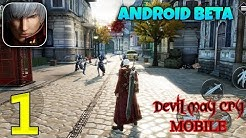 Devil May Cry Mobile Android Beta Gameplay - Part 1