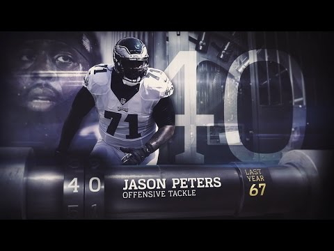 #40 Jason Peters (OT, Eagles) | Top 100 Players of 2015