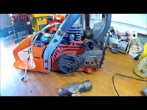 DIY How To Remove Chainsaw Clutch without Specialty Tools