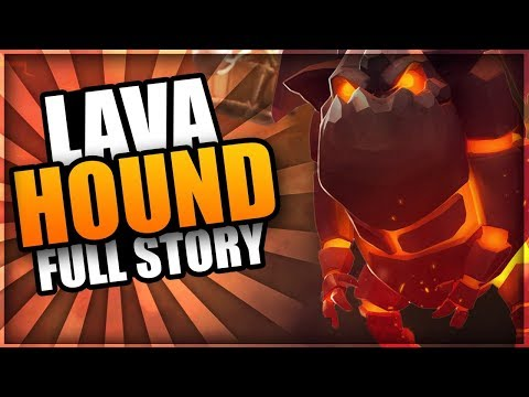 Clash of Clans Animation - How was the LAVA HOUND created?   The FULL Lava Hound Origin Story