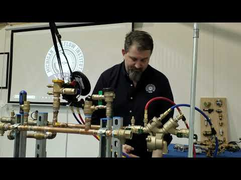 ASSE 1013 Testing Procedures With A 5 Valve Test Kit