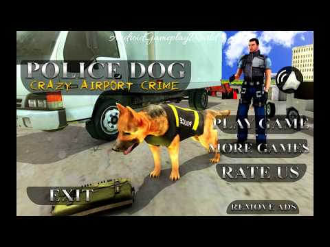 Police Dog Crazy Airport Crime Android Gameplay