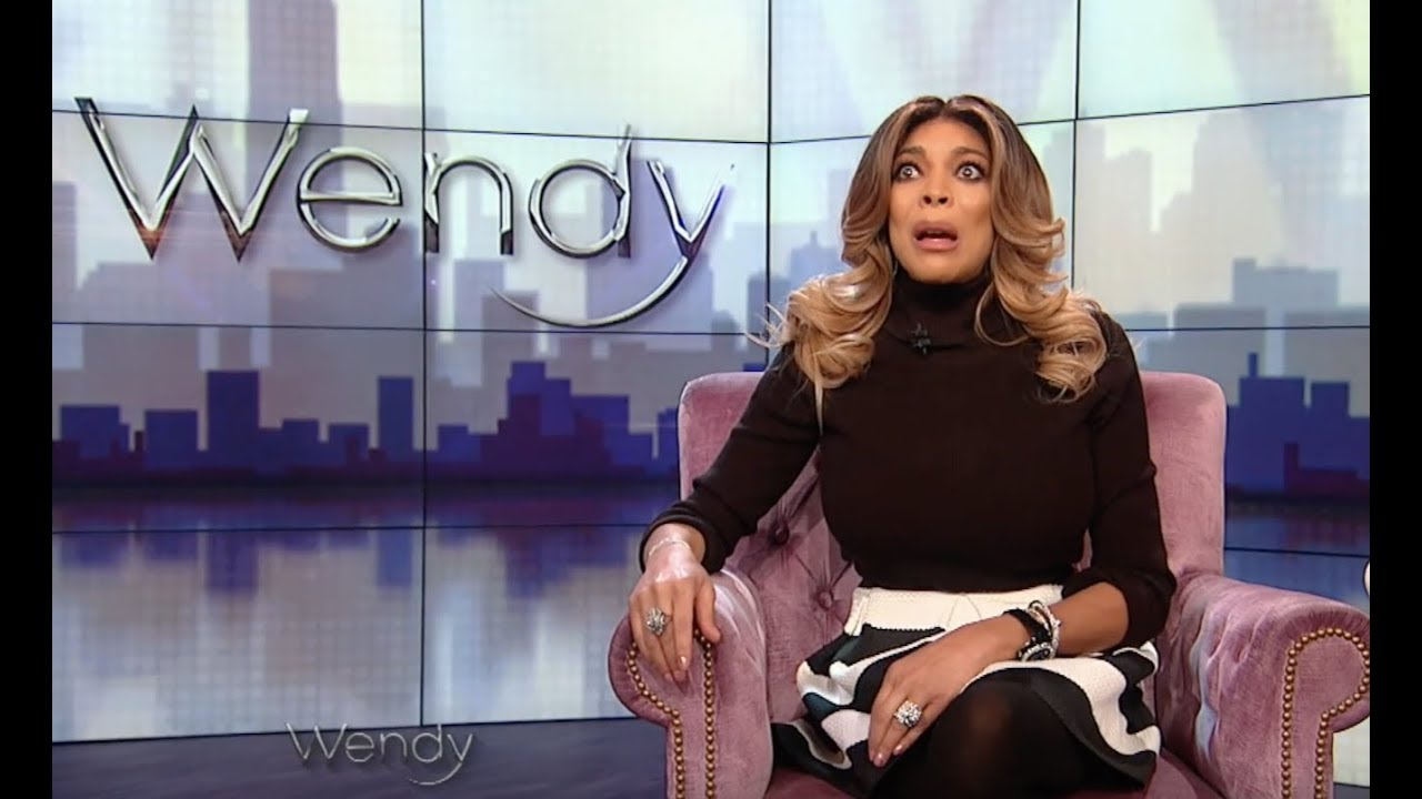 WENDY WILLIAMS IS BACK! AND WEARING BLACK AND WHITE COLORS OF COURSE!