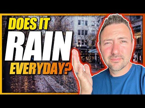 Portland Oregon Weather | How Much Does It Rain In Portland
