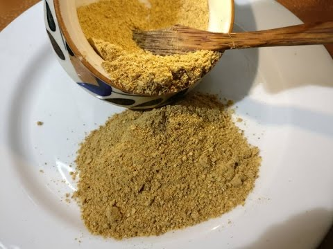 Chat Masala Homemade