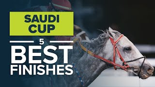 SAUDI CUP BEST RACES FINISHES: MAXIMUM SECURITY V. MIDNIGHT BISOU, NEW YORK CENTRAL V. MATERA SKY screenshot 3