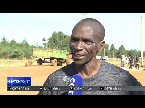 Interview with  Kenya's Olympic marathon champion Eliud Kipchoge