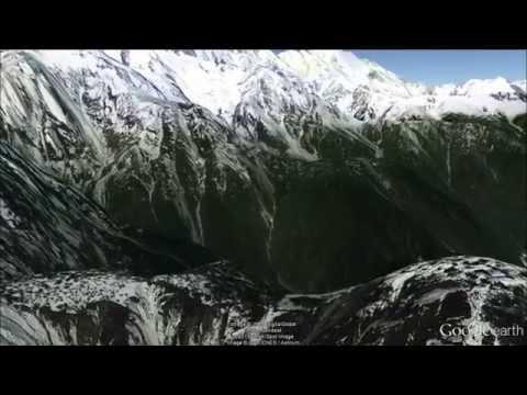 Tibet Grand Canyon Fly-Through  Part 1 - Google Earth