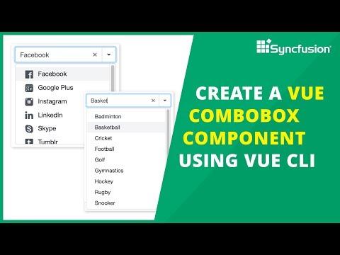 Create a Vue ComboBox Component Using Vue CLI thumbnail