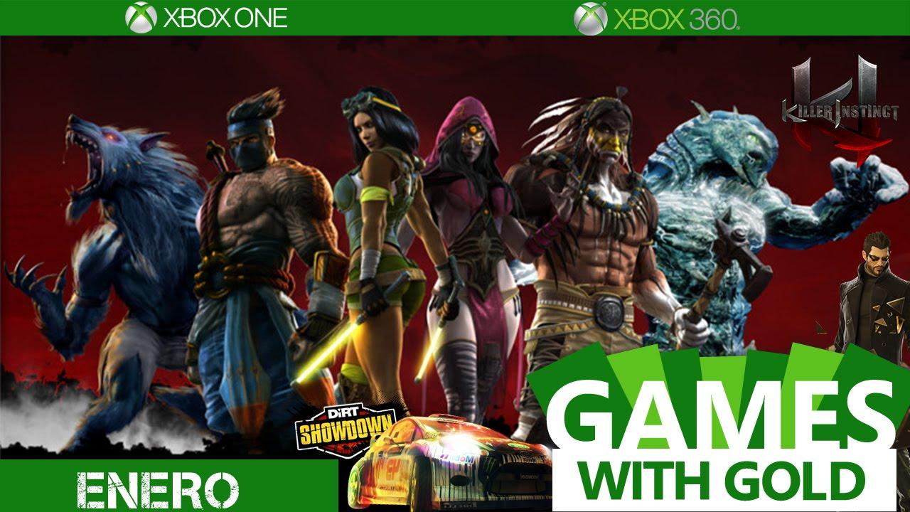 Juegos gratis para xbox one y enero games