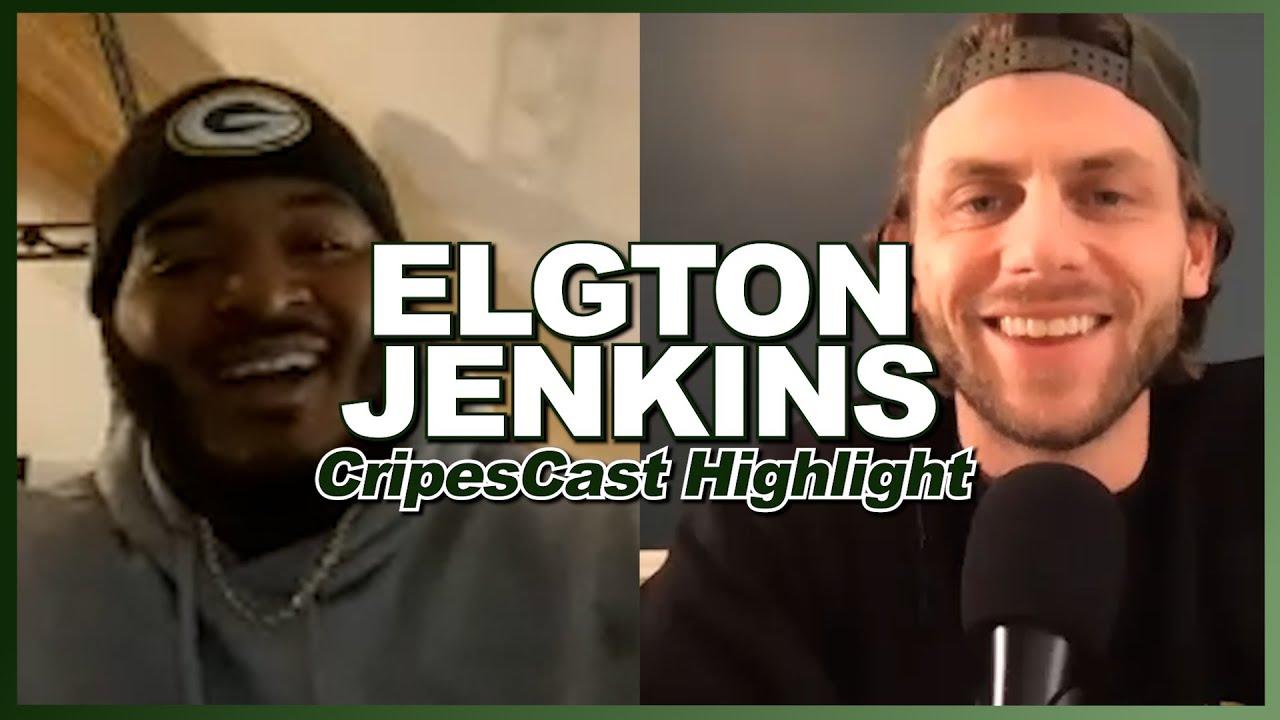 Locker Room Talk With Elgton Jenkins - CripesCast Highlight